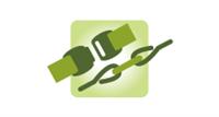 Verbinder für Band Seil und Litze