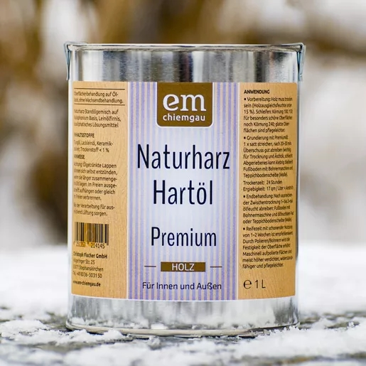 EM Holzöl Premium innen & außen 1 Liter