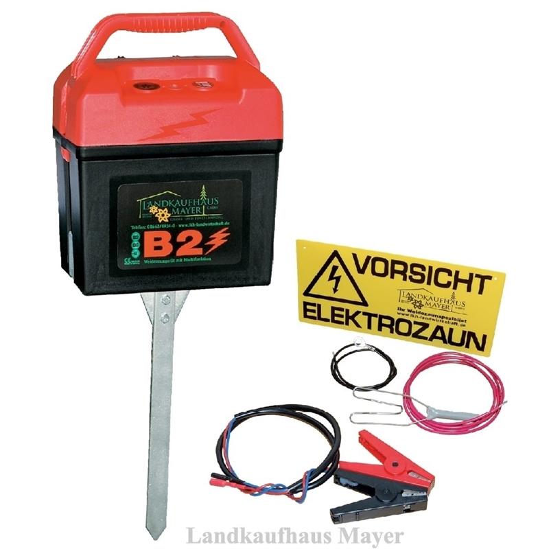 Weidezaungerät B2 Multi 9V/12V/230V