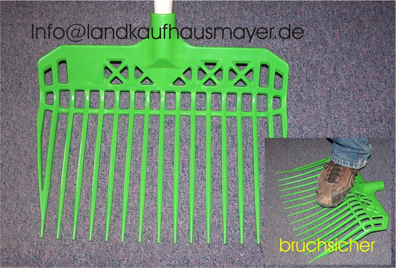 Dunggabel Grün!! Made in Germany ohne Stiel