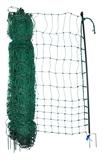Geflügelnetz 105cm 25m 2 Spitz grün elektrifizierbar