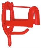Trensenhalter Metall rot oder schwarz