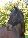 Fliegenschutzmaske FinoStrech Schwarz