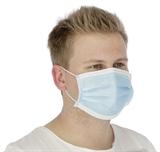 Mund-Nasen-Schutz (Hygienemaske) Einwegmaske 50St im Pack