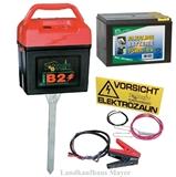 Weidezaungerät B2 Multi 9V/12V inkl. 9V Batterie
