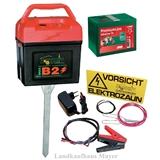 Weidezaungerät B2 inkl. Batterie!!!! und inkl. 230Volt Adapter!!!!