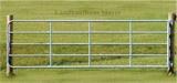 Weidetor verstellbar 1-1,7m verzinkt, inkl. Montageset